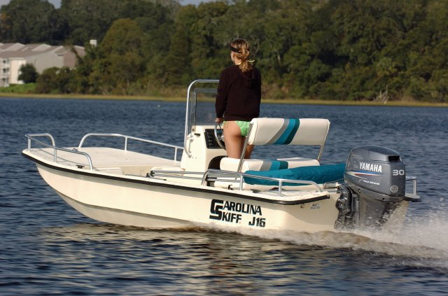 Fantastic New 2012 Carolina Skiff J 16 Cc For Sale Onthecornerstone Fun Painted Chair Ideas Images Onthecornerstoneorg